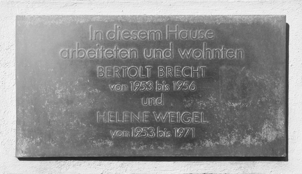 Brecht und Weigel Haus