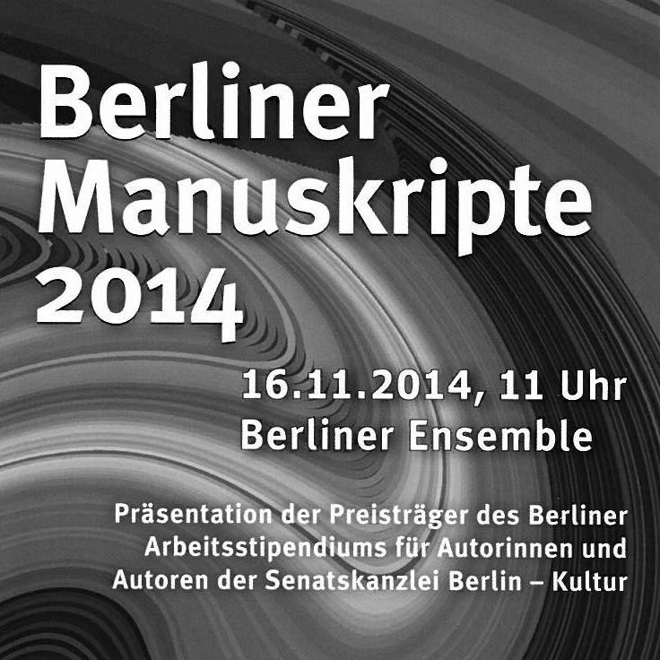 Berliner Manuskripte 2014
