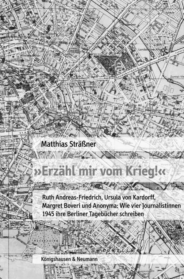 """Matthias Sträßner """"Erzähl mir vom Krieg!"""""""