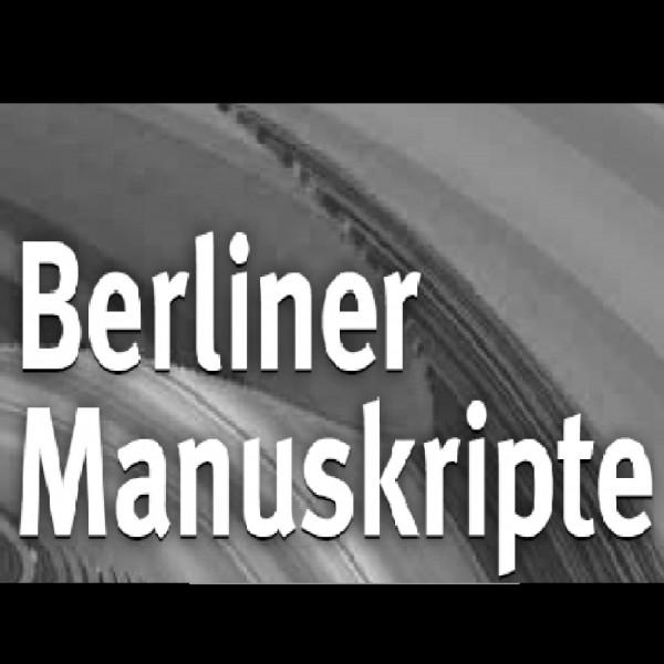 Berliner Manuskripte 2015
