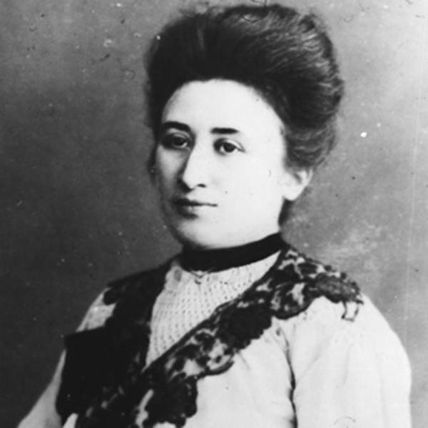 Ernst Piper Rosa Luxemburg Ein Leben Literaturforum Im Brecht Haus