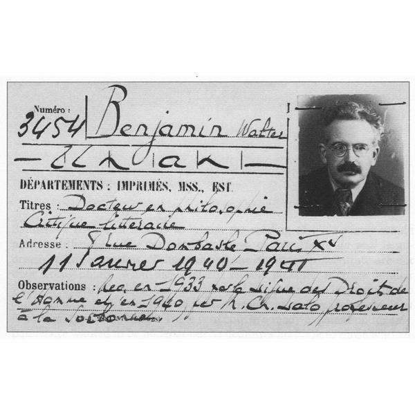 Fetisch Walter Benjamin