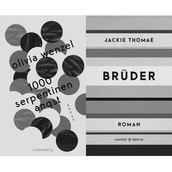 Olivia Wenzel »1000 Serpentinen Angst« im Gespräch mit Jackie Thomae »Brüder«