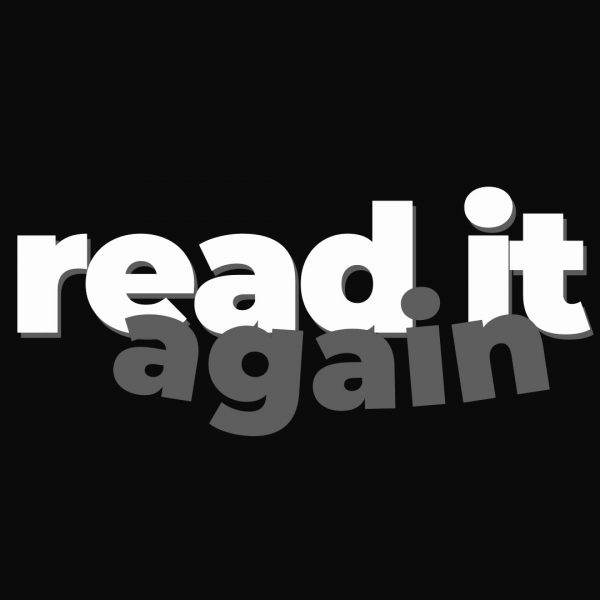Read it again!